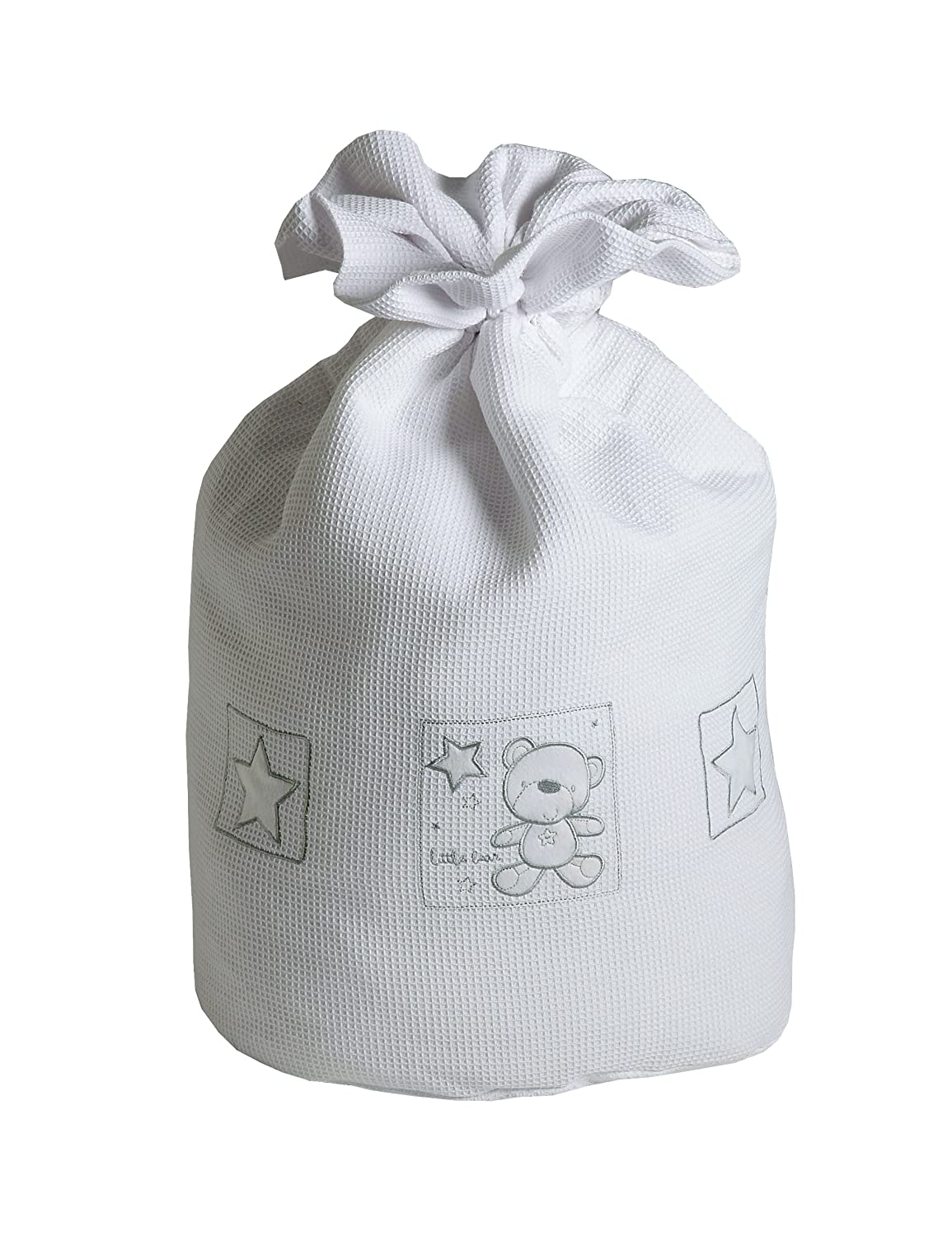Baby Elegance Star Ted Laundry Bag (White) 3125