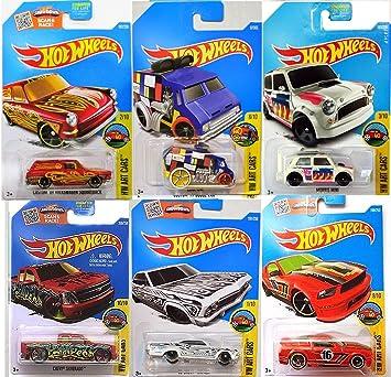 Amazon Com Art Cars Hot Wheels Volkswagen Squareback Red