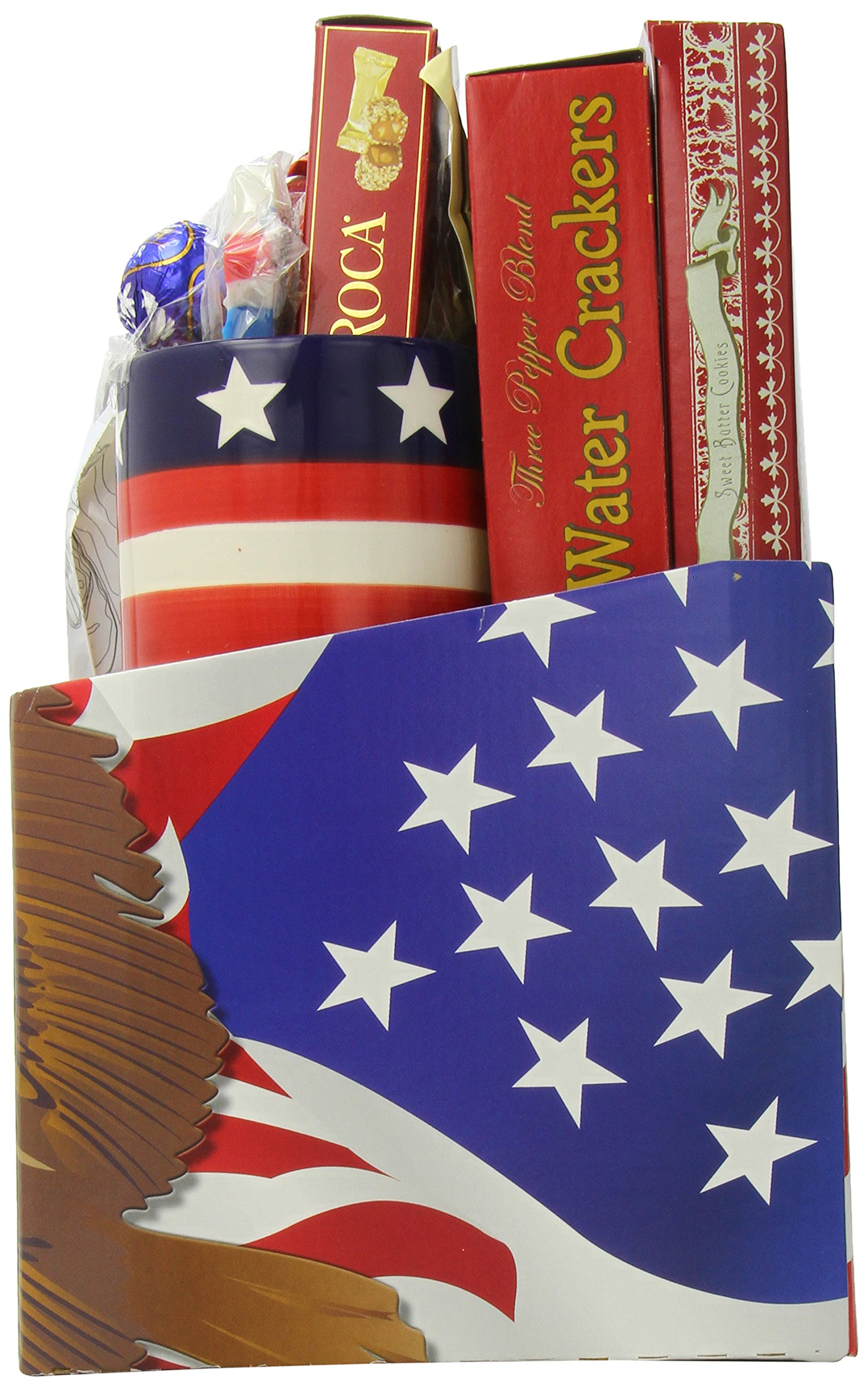 GreatArrivals Gift Baskets Enduring Freedom, Welcome Home Solider or Patriotic by GreatArrivals Gift Baskets (Image #3)