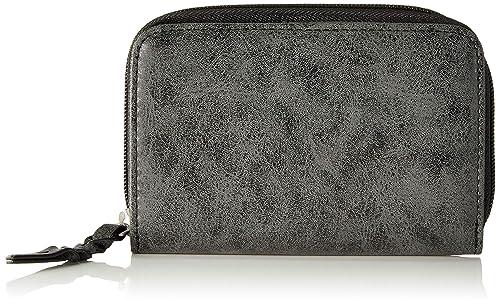 Oliver (Bags)) - Zip Wallet, Carteras Mujer, Negro (