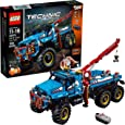 LEGO Technic 6x6 All Terrain Tow Truck 42070 Building Kit (1862 Pieces) (Discontinued by Manufacturer)