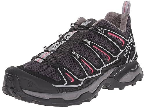 Salomon L37164100, Zapatillas de Senderismo para Mujer, Gris (Asphalt/Black/Hot Pink), 36 EU: Amazon.es: Zapatos y complementos