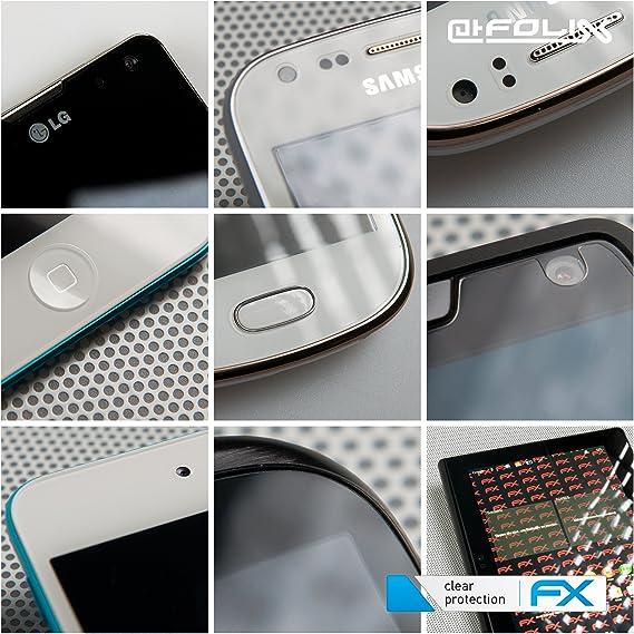 entspiegelnde und sto/ßd/ämpfende FX Folie 3X atFoliX Panzerfolie kompatibel mit Panasonic Lumix DMC-TZ71 Schutzfolie