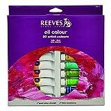 Reeves 20-Pack Oil Color Tube Set, 22ml
