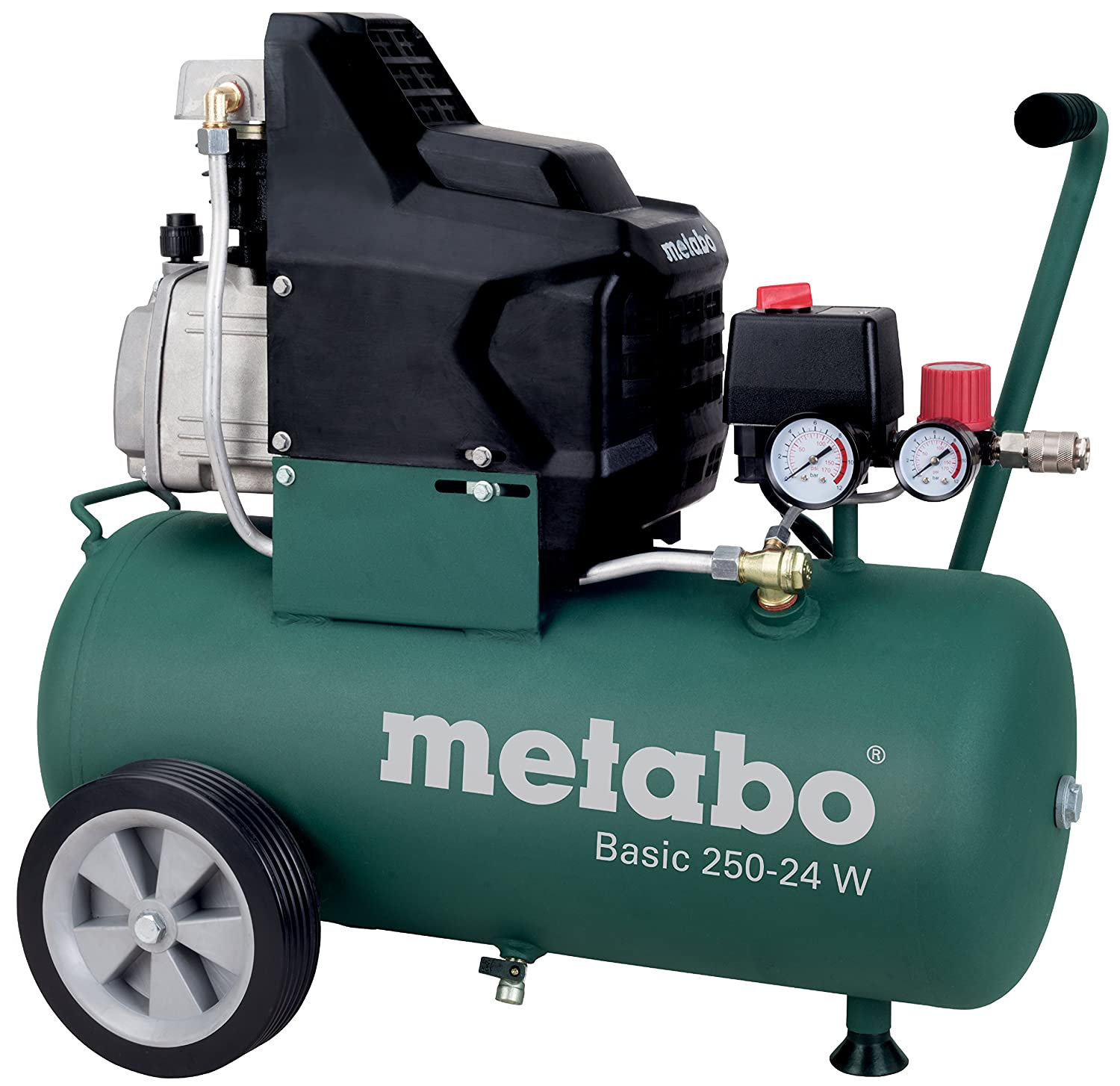 Metabo Basic 250-24 W - Compresor 2 CV 25 litros