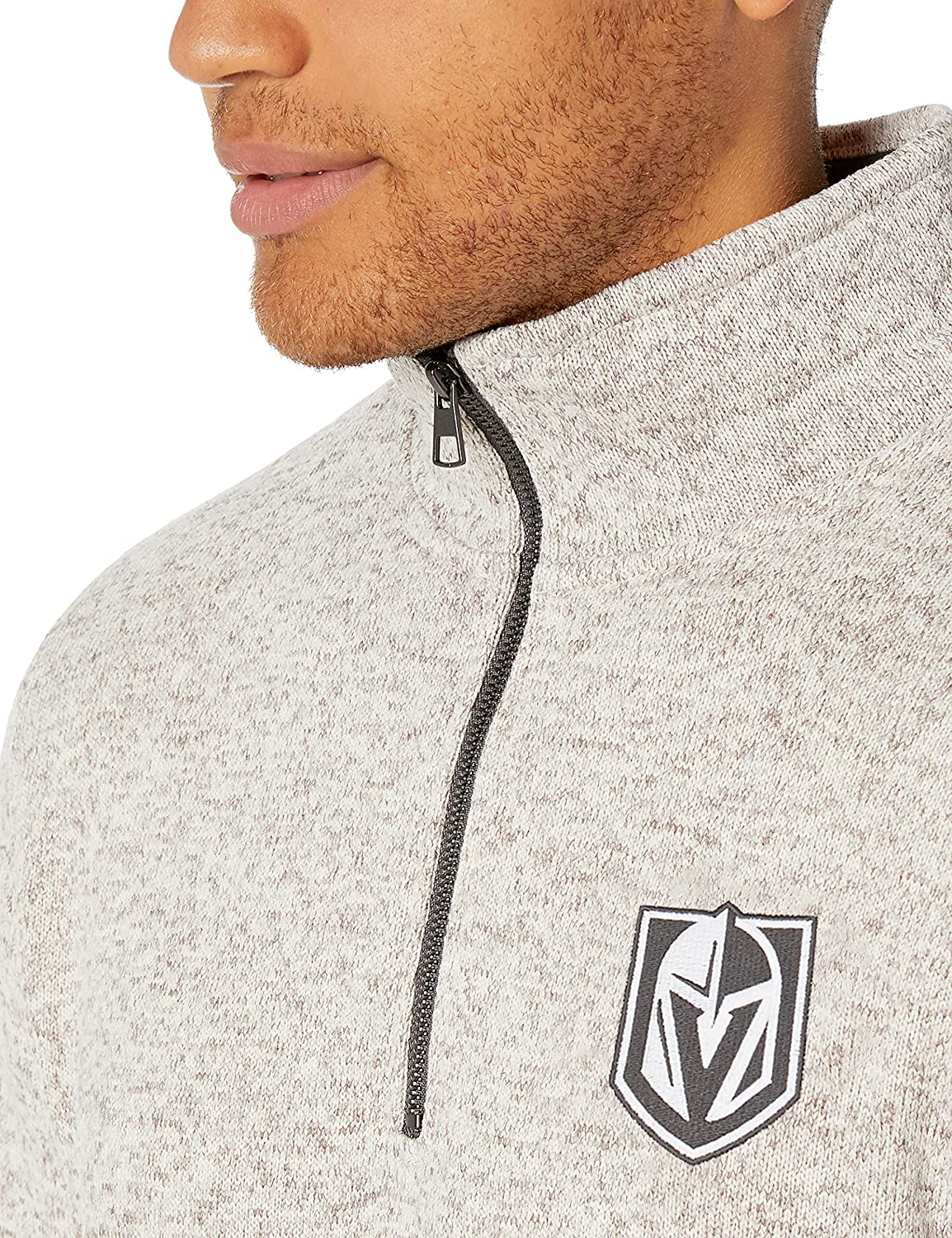 OTS NHL Mens Anchorage 1//4-Zip Pullover