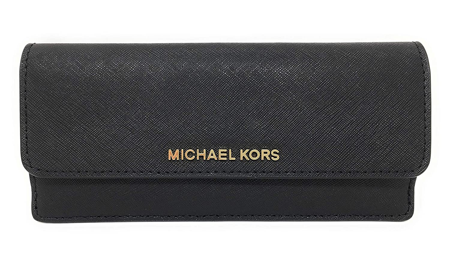 095115f5f44a Amazon.com  Michael Kors Jet Set Travel Flat Wallet Saffiano Leather ...