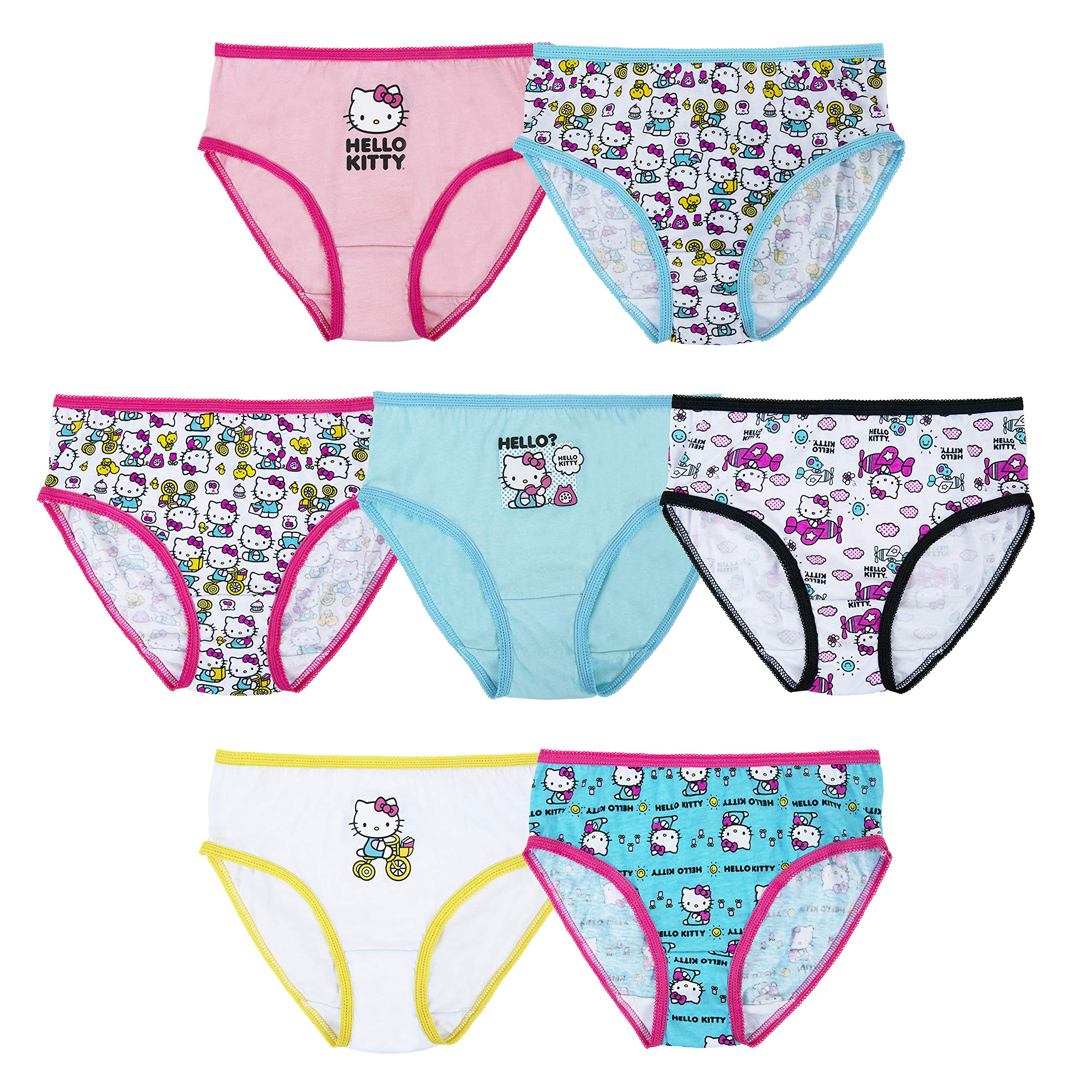 Hello Kitty Girls 7pk Panties