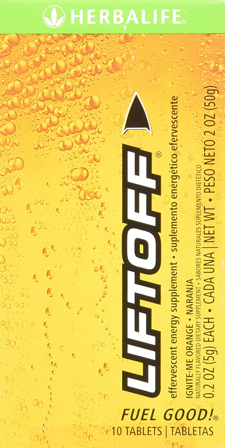 Amazon.com : Herbalife Liftoff - Tropical-Fruit Force, 10 tablets : Beauty