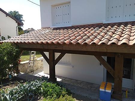 Pergola adosada de 690/400, 27 m2, calidad superior, montaje ...