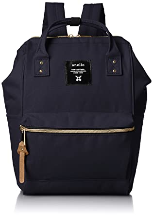 eac980a133ec Amazon.com  anello  AT-B0197B small backpack with side pockets navy ...