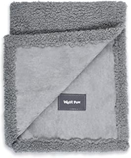 product image for West Paw Big Sky Dog Blanket and Throw, Faux Suede/Silky Soft Fleece Pet Throw Blanket for Couch, Furniture Chair and Bed