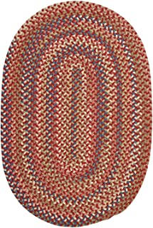 product image for Colonial Mills Floor Decorative Cedar Cove Rust Area Rug Oval 2'x4'