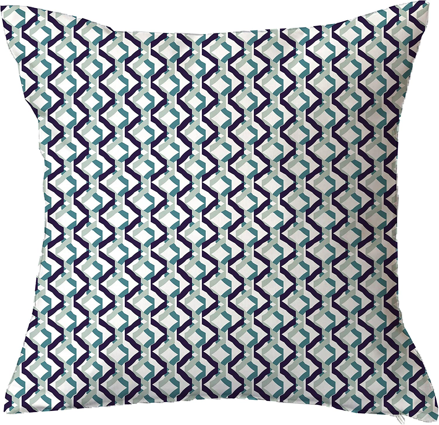 Positively Home Confetti Geometric Throw Pillow 20 X 20 Blue Home Kitchen