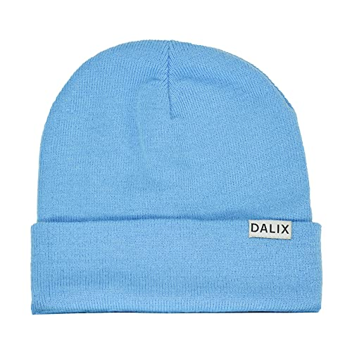 DALIX Cuff Beanie Cap, 12-Inches