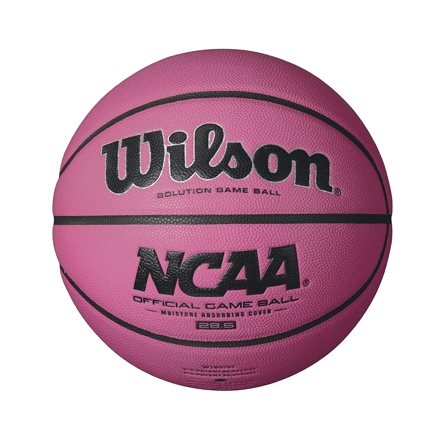 Wilson NCAA Official Game Basketball, 28.5-Inch, Pink