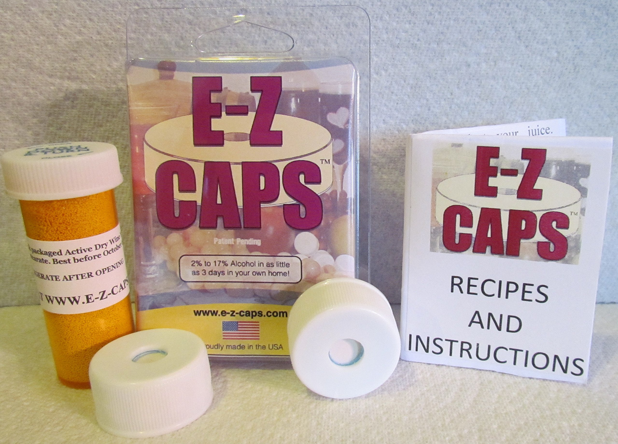 EZ Caps Complete Wine Beer Mead Cider Alcohol Making Kit