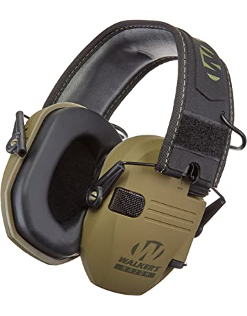 Walkers Razor Slim Electronic Hearing Protection Muffs With Sound Amplification And Suppression Protect It