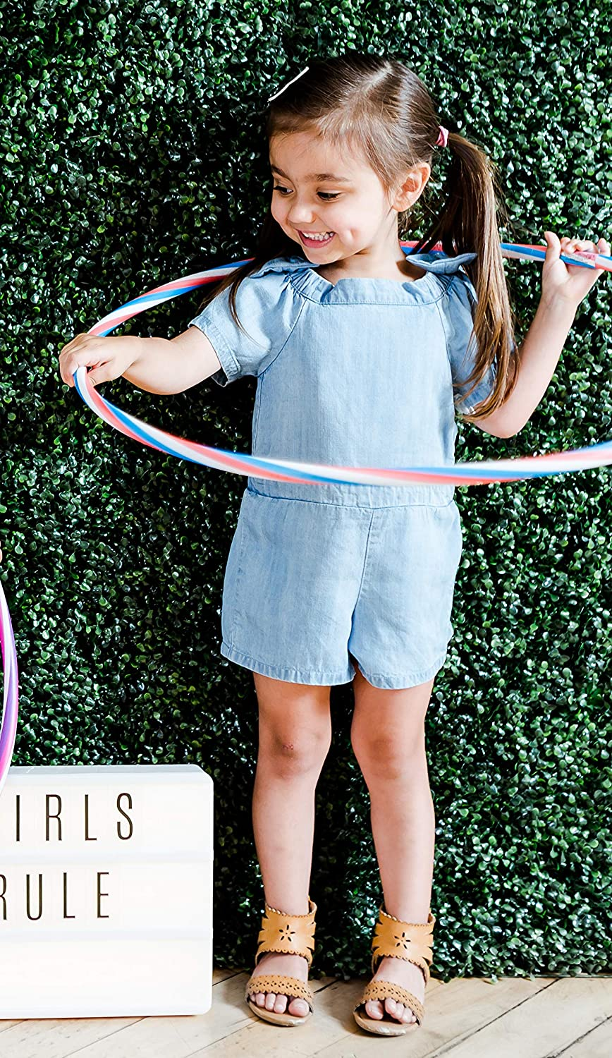 Kinderkind Girls Chambray Bow TIE Romper