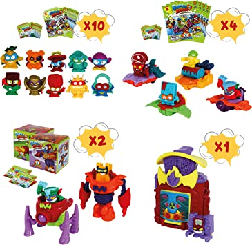 SuperZings Serie 3 - Pack Sorpresa con 17 Sets | Contiene 10 ...