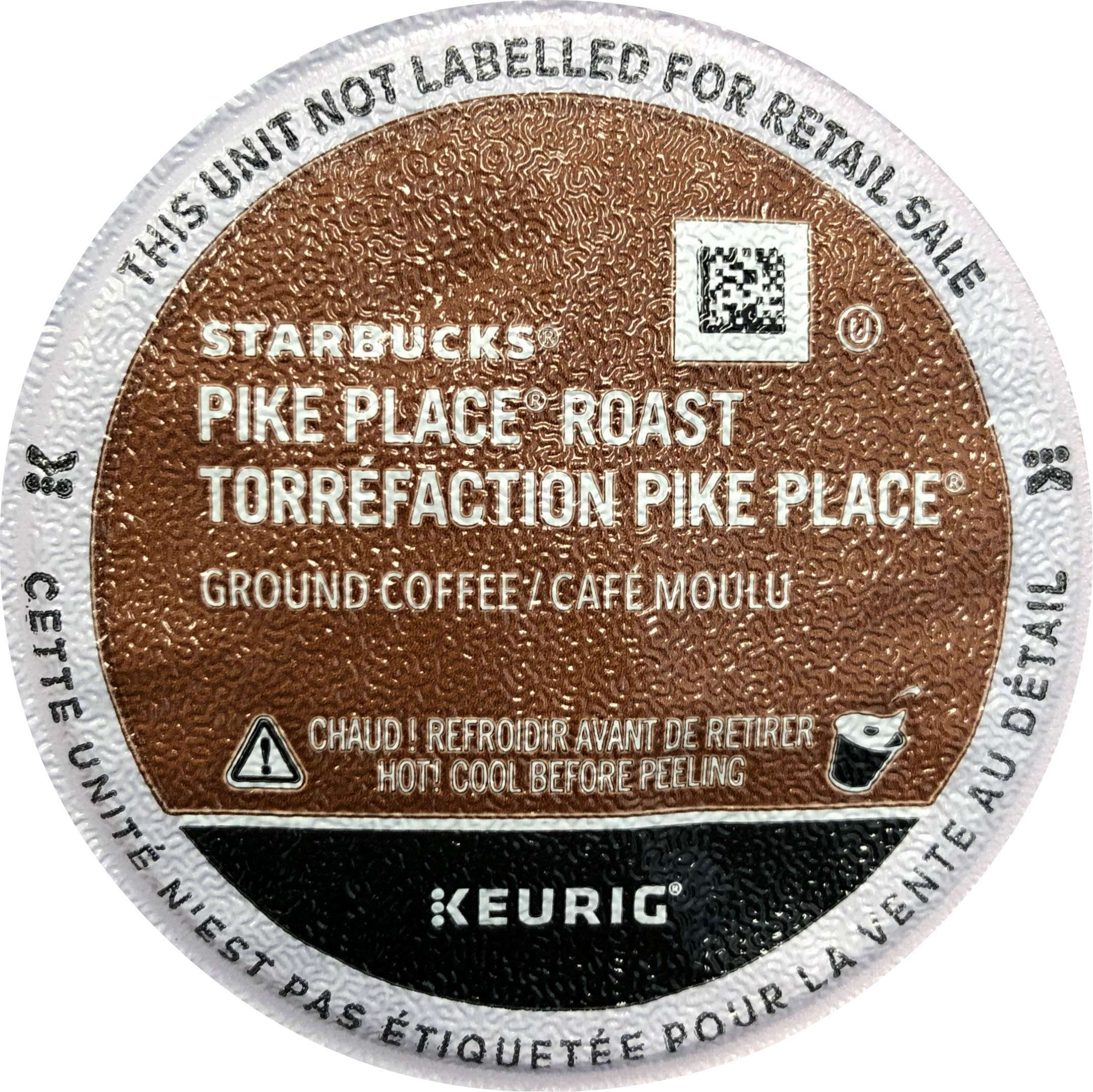 Starbucks Pike Place Roast Coffee K-Cup Portion Packs for Keurig Brewers, 72 Count (3 boxes of 24 K-Cups)