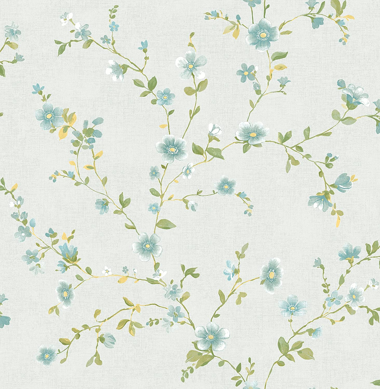 Astu8 A Street Prints 2657 22248 Delphine Light Blue Floral