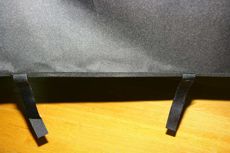 COXnCREW Cubierta Duradera para M/áquina de Remo con Concept2 Modelo E Negro