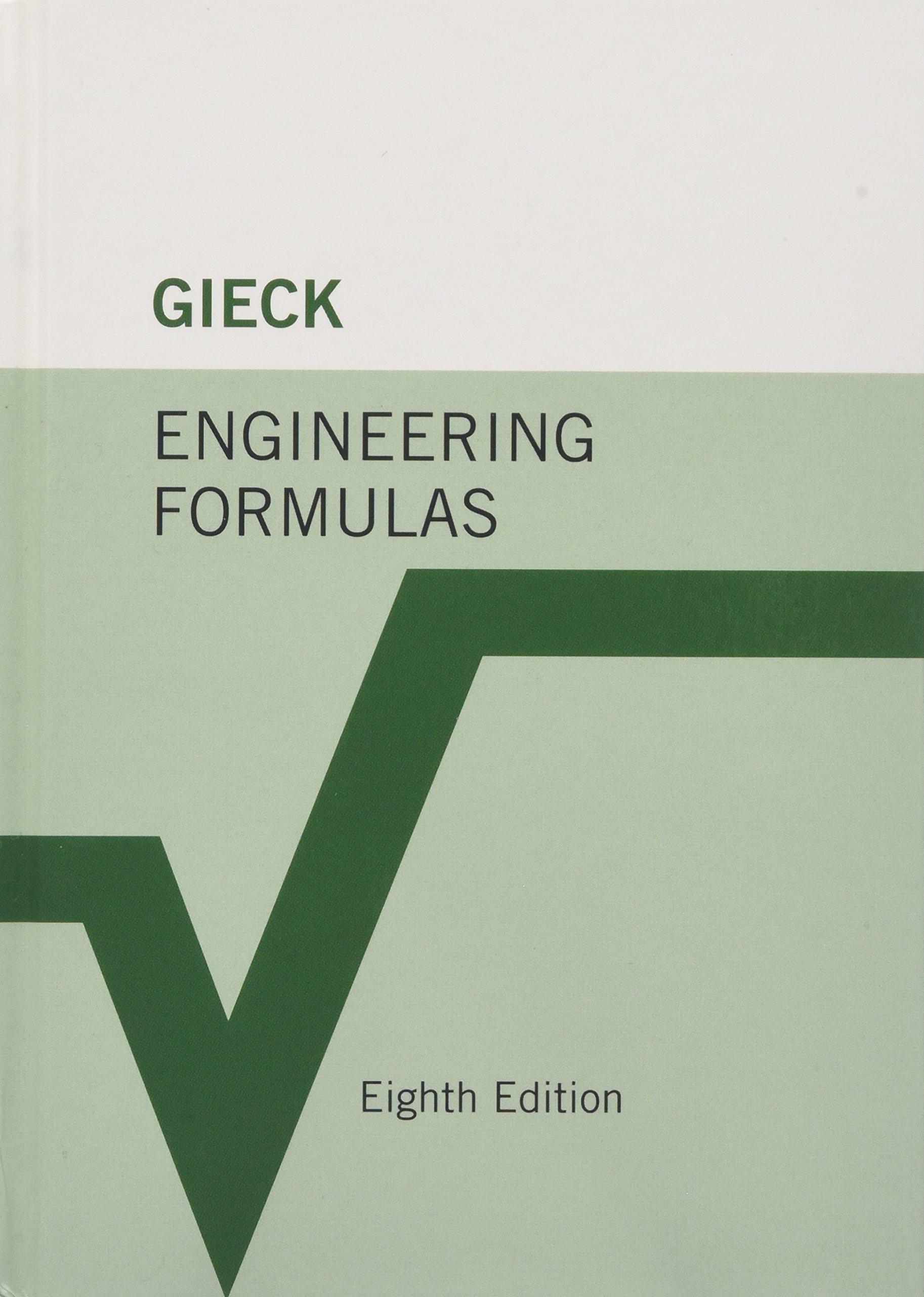 Engineering Formulas: Amazon.es: Kurt Gieck, Reiner Gieck: Libros en idiomas extranjeros
