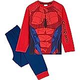 Marvel Pijama Niño, Disfraz Spiderman Niño, Conjunto Dos Piezas con Camiseta Manga Larga y Pantalones, Regalos para…