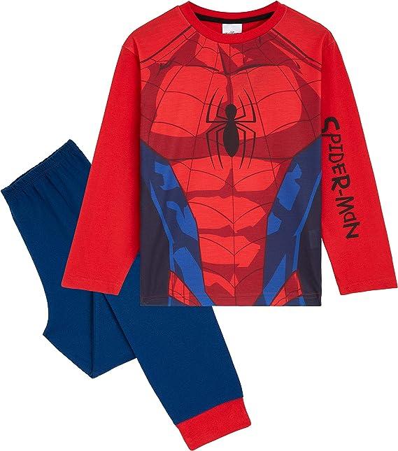 Spiderman Jungen Kinder Pyjama Nachtwäsche Sommer Schlafanzug 2tlg Kleidung Sets