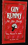 Gin Rummy at Its Best from Beginner to Expert: From Beginner to Expert