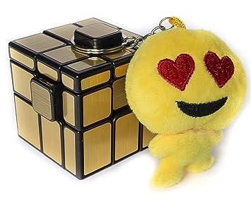 Cubo de Rubik MoYu Mirror Espejo 3x3x3 (Dorado) más REGALO ...