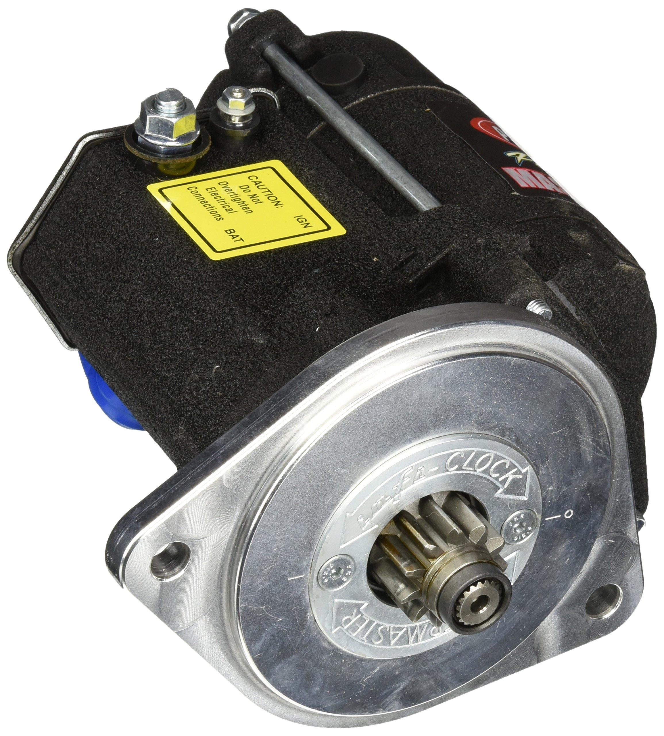Powermaster 9603 Str Master Infi-Clock Ford [SB] V8 All A/T w/157T/164T, M/T 157T Flyw 3/4'' Depth 14:1 Black Wrinkle by Powermaster