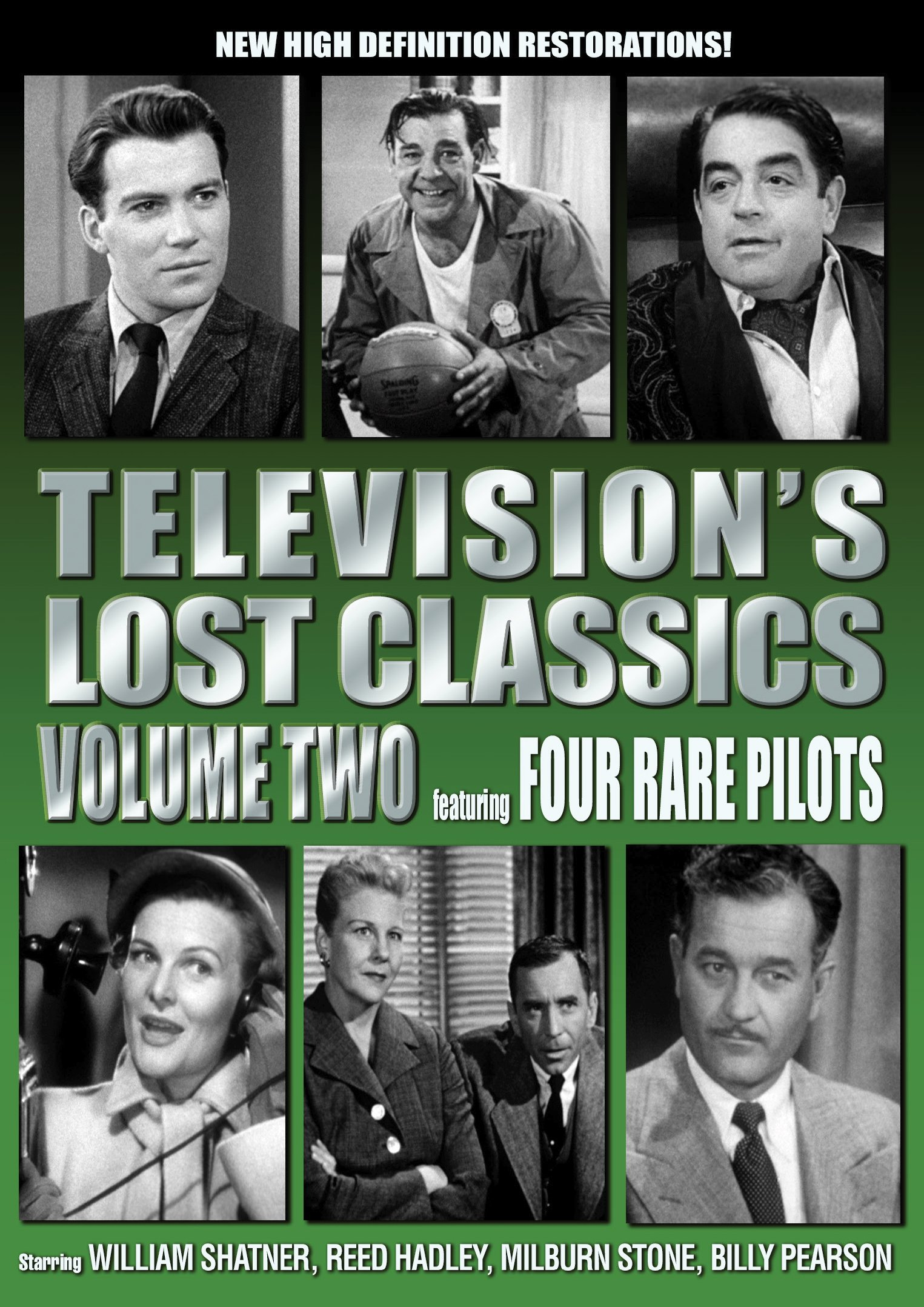 DVD : Lon Chaney - Television's Lost Classics: Volume 2: Four Rare Pilots (DVD)