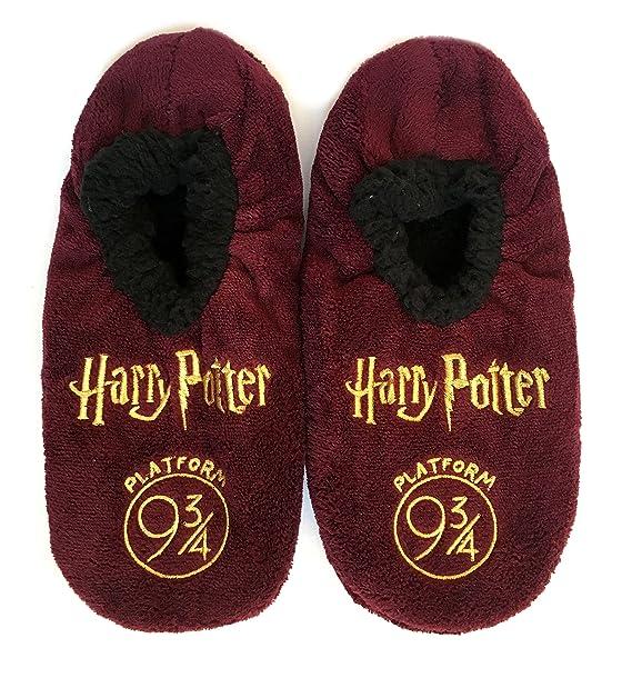 H.Potter - Zapatillas de estar por casa de 100% Poliéster para hombre multicolor
