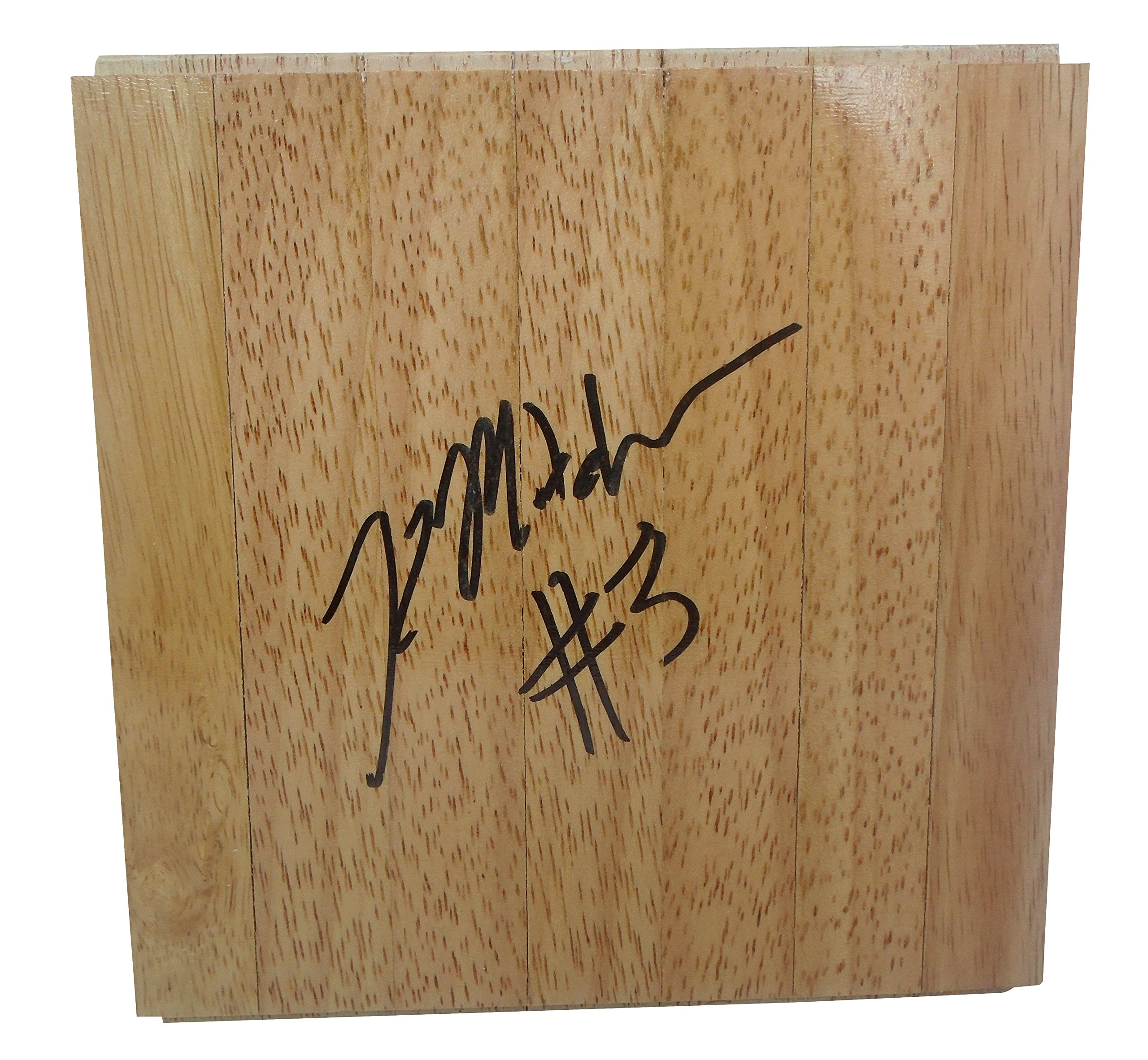 Indiana Fever Kelsey Mitchell Autographed Hand Signed 6x6 Parquet Floorboard with Proof Photo of Signing, Team USA, OSU Ohio State University Buckeyes, COA Basketball Floor Boards