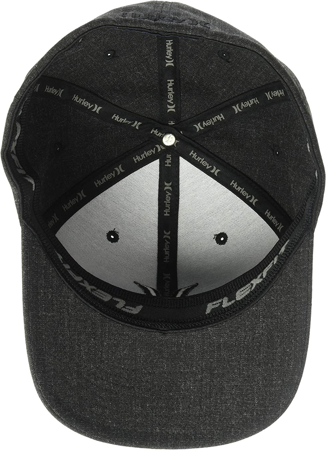 official photos buying new exquisite style Amazon.com: Hurley Men's Black Textures Baseball Cap: Clothing