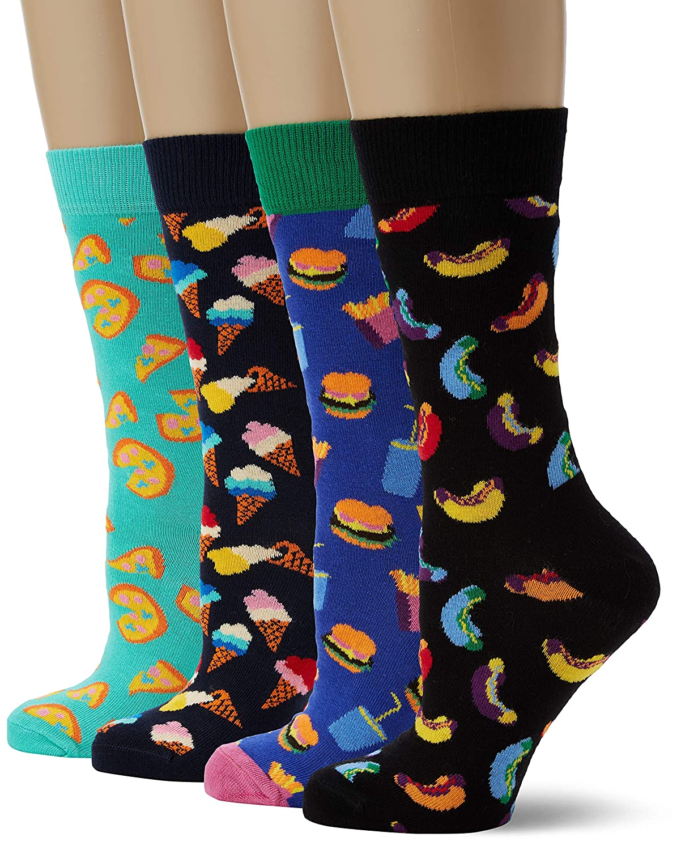 Happy Socks Junk Food Gift Box (4 pairs)
