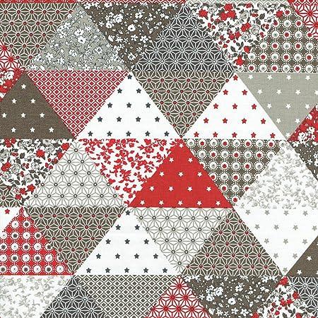 Textiles français Tela de Algodón Estampada - Tela Patchwork ...