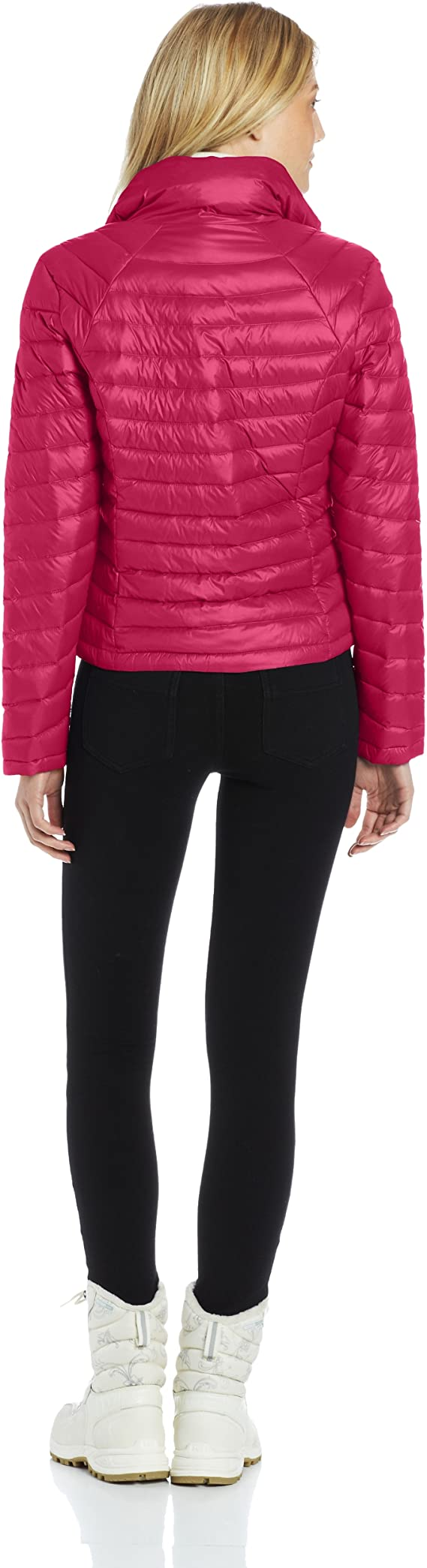 Tommy Hilfiger Women's Packable Down Jacket with Wave Quilting