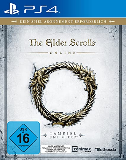 Bethesda The Elder Scrolls Online, PS4 - Juego (PS4, PlayStation 4, MMORPG