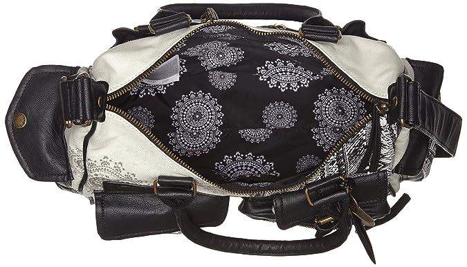 5b224dd24a Desigual Tasche London Medium Art Damen - 50X50B7-2000-U  Amazon.de   Bekleidung