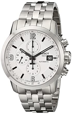 Image Unavailable. Image not available for. Color  Tissot Men s  T0554271101700 PRC 200 Stainless Steel Watch 677ae74081b