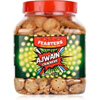 Feasters Ajwain Crackers Jar, 250g