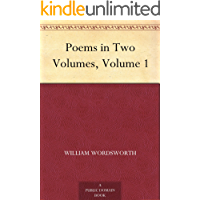 Poems in Two Volumes, Volume 1