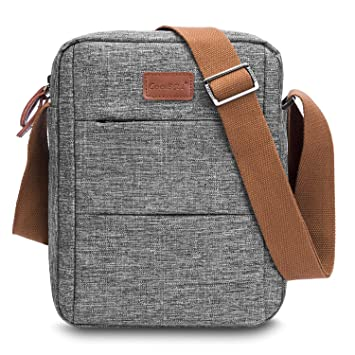 e5a72113f66b CoolBELL Messenger Bag Carrying Case Handbag Tablet Briefcase Oxford Cloth Shoulder  Bag Compatible 10.6 Inches Tablet. Roll over image to zoom in