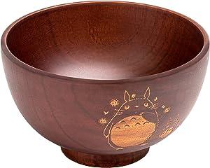 Reubens Wood Bowl for Food or Decor - Serving Fruit, Salad, Soup, Acai, Smoothie, Popcorn, Dip, Handcrafted Home & Kitchen Decor