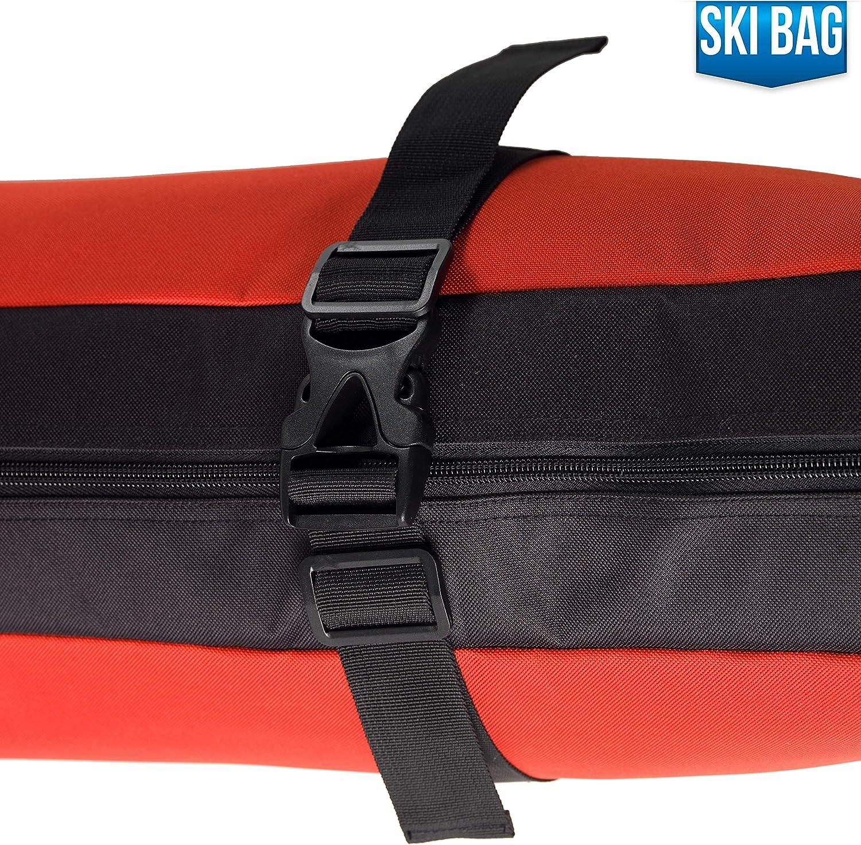 Ski Carrier Ski Bag Ski Boot Bag Ski Boot Strap Athletico Mogul Padded Ski Bag Bundle