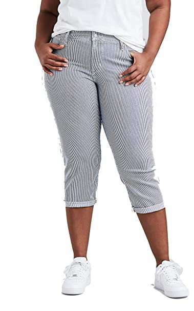 Amazon.com: Levis - Pantalones vaqueros capri para mujer ...