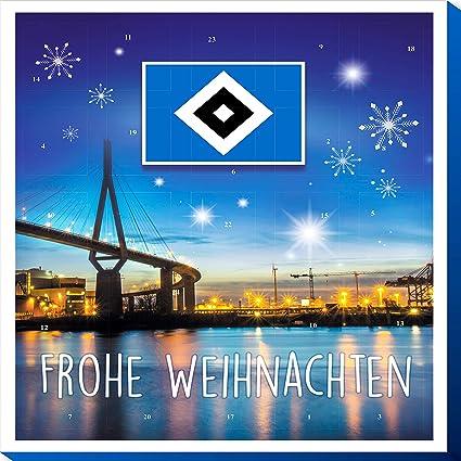 Frohe Weihnachten Hsv.Riegelein Adventskalender Hamburger Sv 1er Pack 1 X 120 G